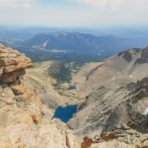 View from Longs Peak (StreetView)