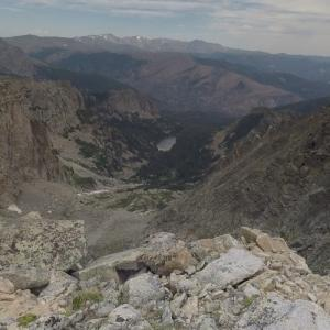 View from Flattop Mountain (StreetView)