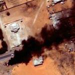 Fire in Nouakchott (Google Maps)