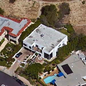 Johnnie Cochran's House (former) (Google Maps)