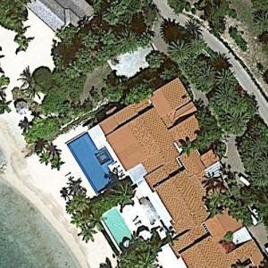 Lionel Messi's Honeymoon Villa (Google Maps)