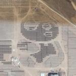 Panda shaped solar power plant