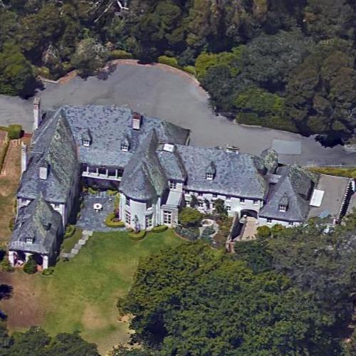 Bing Crosby's House (Former) In Hillsborough, CA (Google