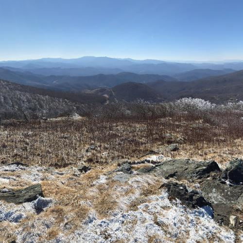 Roan Mountain State Park: View From Roan Mountain In Spruce Pine, NC (Bing Maps