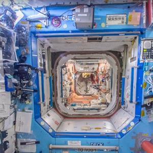 Inside the International Space Station (StreetView)