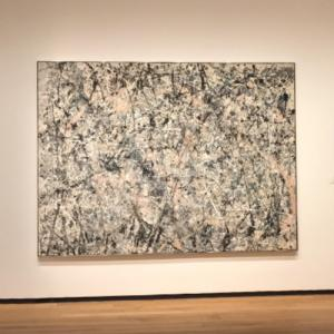 'Number 1, 1950 (Lavender Mist)' by Jackson Pollock (StreetView)