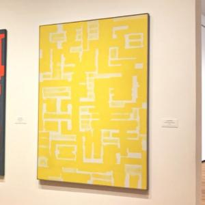 'Untitled (Yellow and White)' by Ad Reinhardt (StreetView)