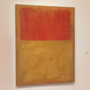 'Orange and Tan' by Mark Rothko (StreetView)