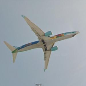 """Alaska Airlines Boeing 737-890 """"Spirit of the Islands"""" [N560AS] (StreetView)"""