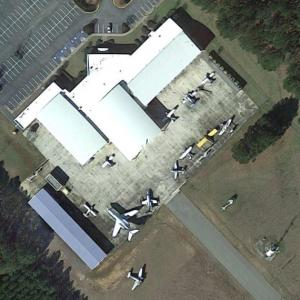 Aircraft static display at South Georgia Technical College (Google Maps)
