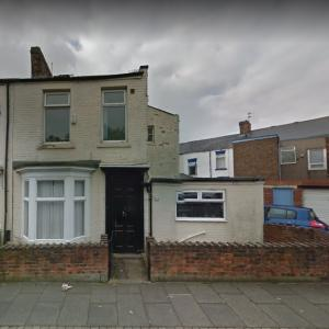 Sunderland house goes on sale for one pound (StreetView)