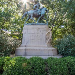 Stonewall Jackson Sculpture (StreetView)
