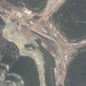 Irianian Missile Base in Syria (Under Construction) (Google Maps)