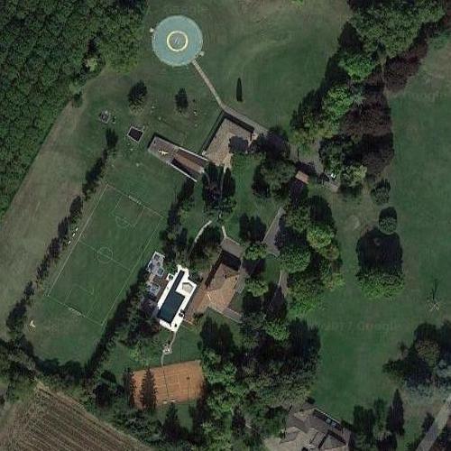 Gianluca Vacchi's House in Castenaso, Italy (Google Maps)