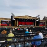 Concert stage of André Rieu before the show