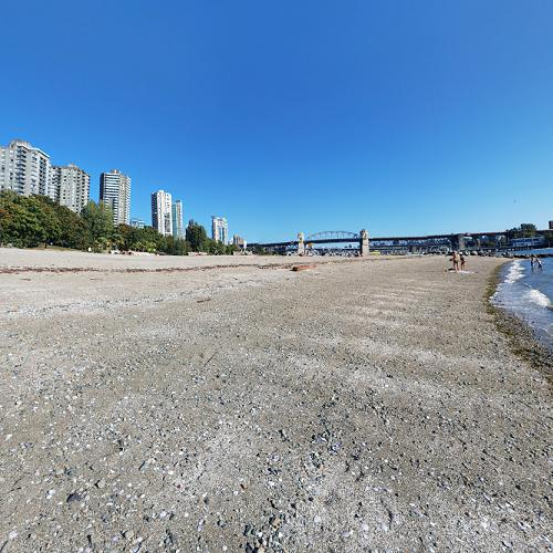 Sunset Beach Park In Vancouver Canada