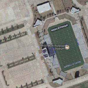 Midlothian Multi-Purpose Stadium (Google Maps)