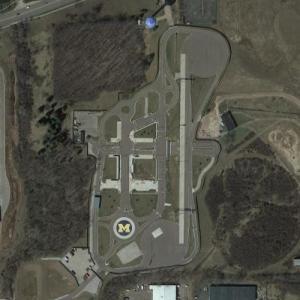 University of Michigan Test Track (Google Maps)