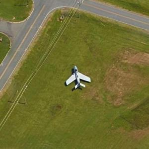 F-84F (Google Maps)