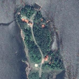 Vladimir Putin's Villa Sellgren Estate (Google Maps)