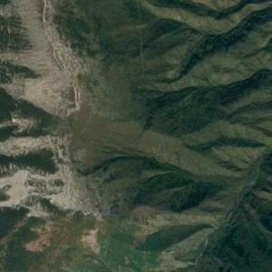2017 North Korean nuclear test (Google Maps)