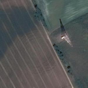 Zelichow crop circle (Google Maps)