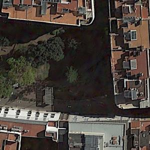 Plaza de la Vila Madrid Roman Necropolis (Google Maps)