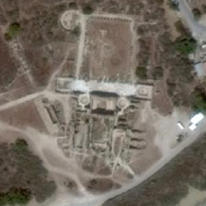 Ruins of Salamis (Google Maps)