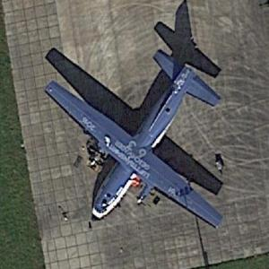 German Airforce Transall C-160 50+95 at Eindhoven (EIN) (Google Maps)