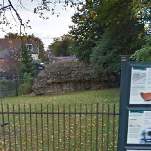 Lindum Colonia Roman Town Wall #2 (StreetView)