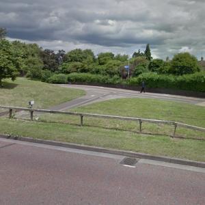 Murder site of Ross Parker (9/21/01) (StreetView)