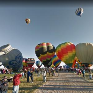 Albuquerque International Balloon Fiesta (StreetView)