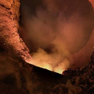 In the crater of Mount Masaya (StreetView)
