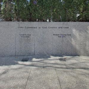 Gravesite of Gerald and Betty Ford (StreetView)