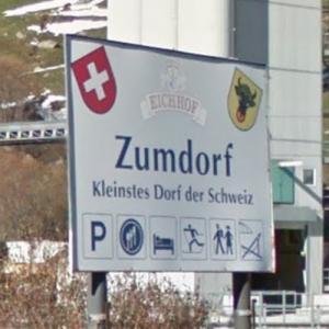 Zumdorf village sign (StreetView)