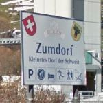 Zumdorf village sign