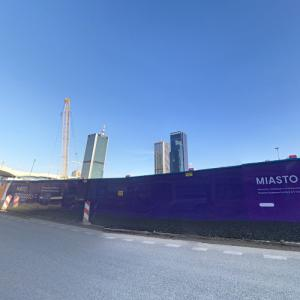 Varso Tower (tallest building in the European Union) under construction (StreetView)