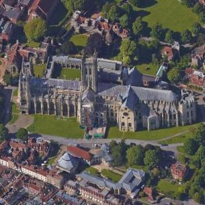 Canterbury Cathedral (Google Maps)