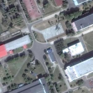 Su-17, Mi-24 (Google Maps)