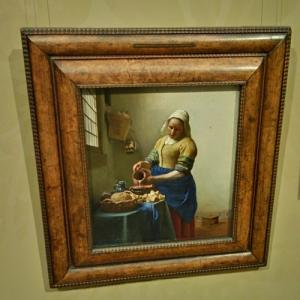 """The Milkmaid"" by Johannes Vermeer (StreetView)"