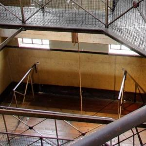 The gallow at Old Melbourne Gaol (StreetView)