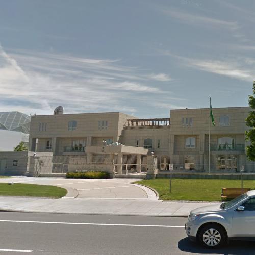 Embassy of Saudi Arabia, Ottawa in Ottawa, Canada (Google Maps)