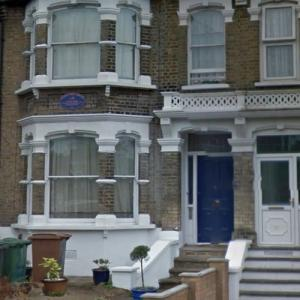 Damon Albarn's childhood home (StreetView)