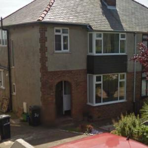 Childhood home of Barry, Maurice and Robin Gibb (StreetView)