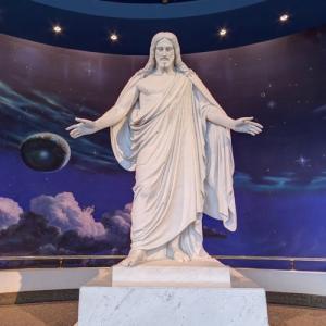 Christus by Bertel Thorvaldsen at Salt Lake Temple Visitor Center (StreetView)
