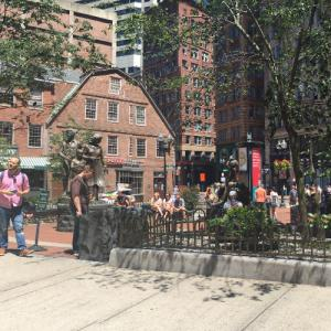 Boston Irish Famine Memorial (StreetView)