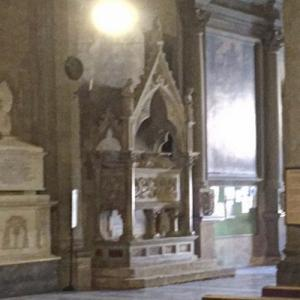 Pope Gregory X's tomb at San Donato Cathedral (StreetView)