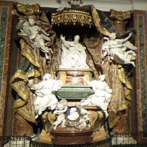 Pope Gregory XV's tomb (StreetView)