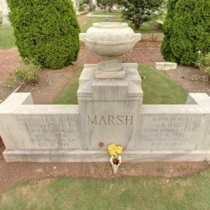 Margaret Mitchell's grave at Oakland Cemetery (StreetView)