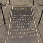 Otto III, Holy Roman Emperor's grave at Aachen Cathedral